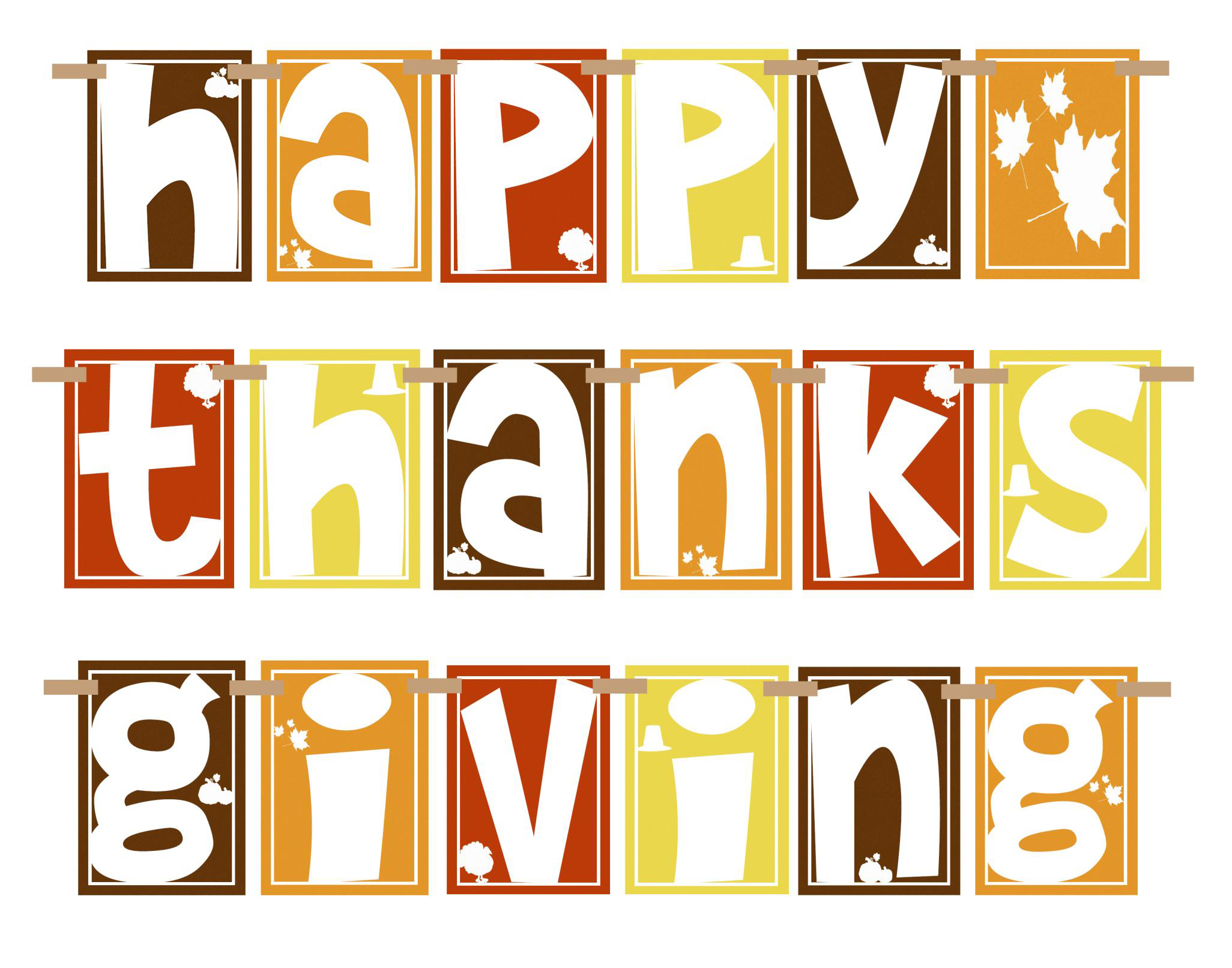 Happy Thanksgiving Image message
