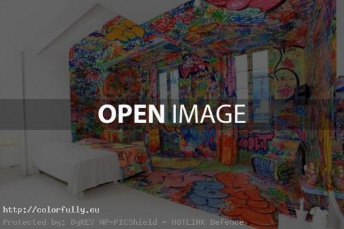 Half Graffiti Room