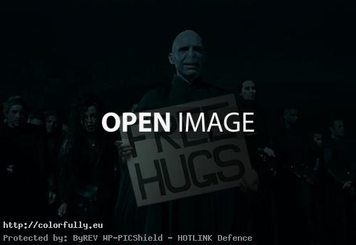 Free hugs by lord Voldemort