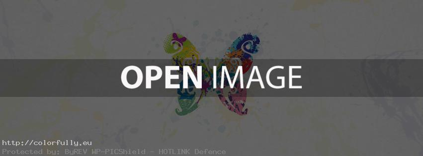 Abstract butterfly – Facebook cover