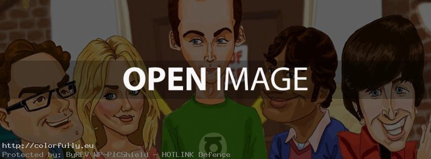 The Big Bang Theory - Facebook cover