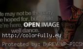 Life may not be the party we hoped for, but while we are here, we might as well dance - Facebook cover