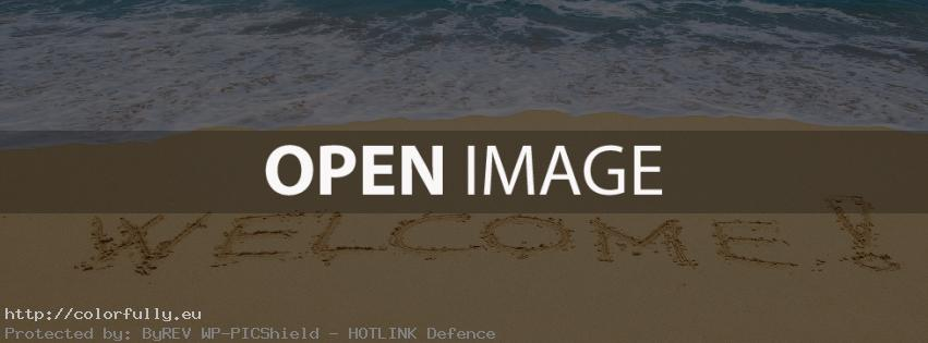 Summer welcome – Facebook cover