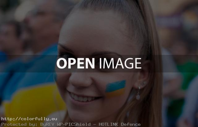 Beautiful ukrainian girl - Euro 2012