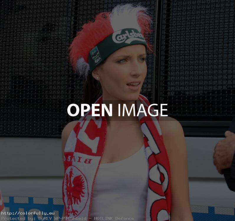 Beauty polish girl – Euro 2012