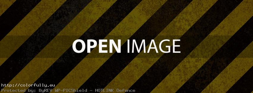 Black and yellow lines – Best Facebook Covers