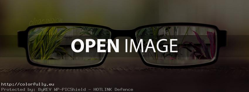 Clear vision – Facebook cover