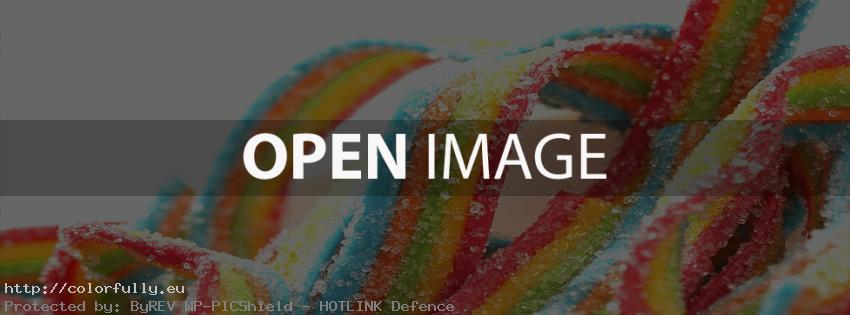 Colorful gum - Facebook cover