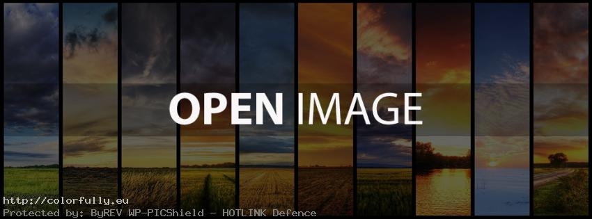 Colorfully Free Facebook Covers Landscapes View