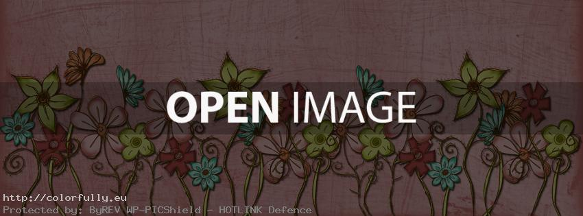 Flowers – Facebook cover