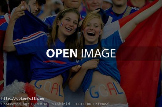 French girls fans – Euro 2012