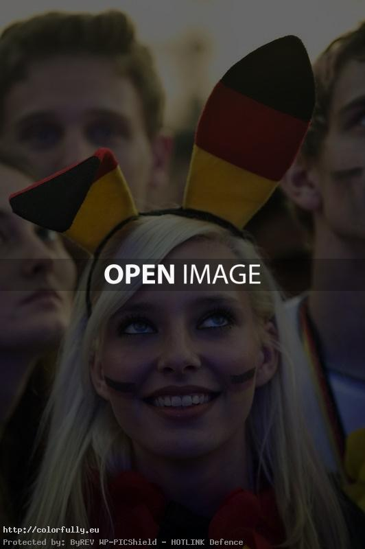 German bunny girl – Euro 2012