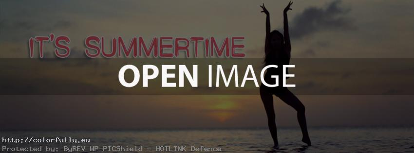Its summertime... Facebook cover