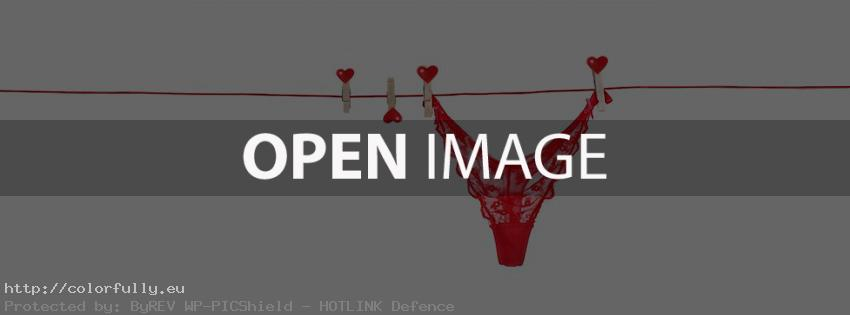 Hanging bikini – Facebook cover