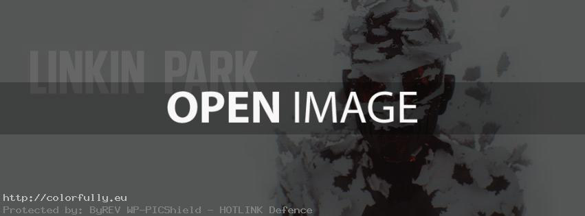Linkin Park – Living Things album – Facebook cover
