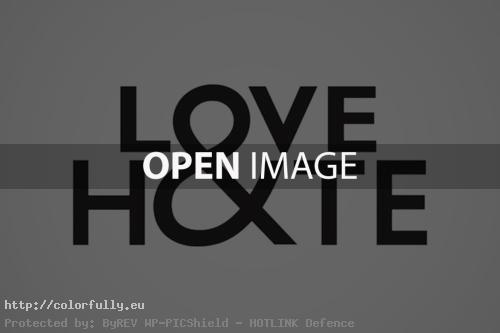 Love and Hate – Creative typography