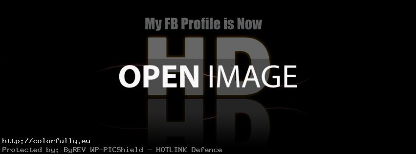 My FB profile is HD – Facebook cover