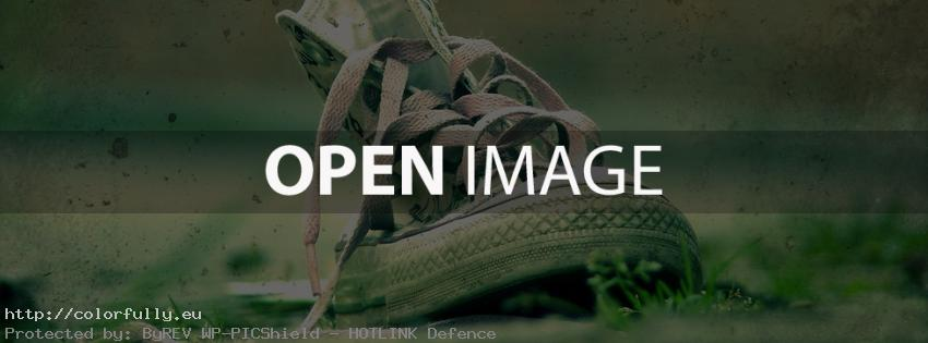 Old sneakers – Facebook cover