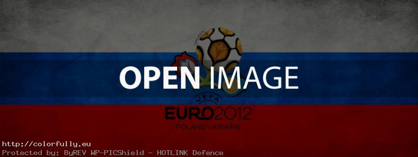 Russia Euro 2012 - Facebook Cover