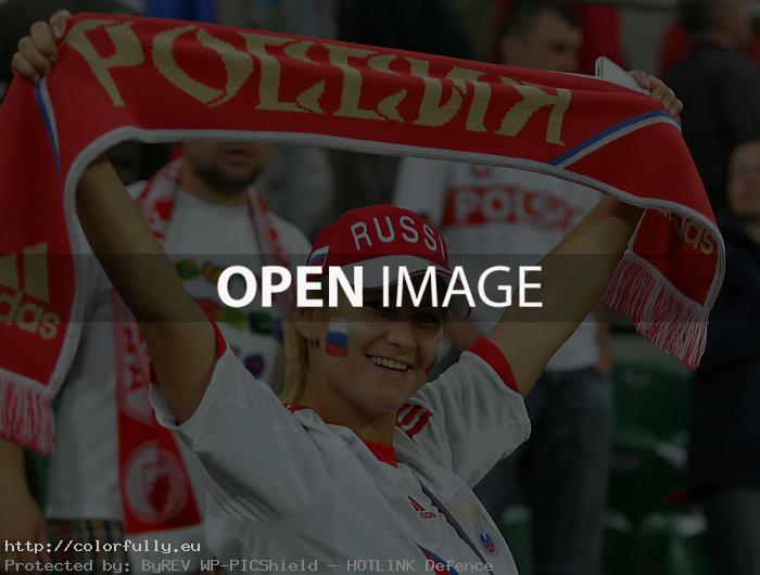Russian fan girl – Euro 2012