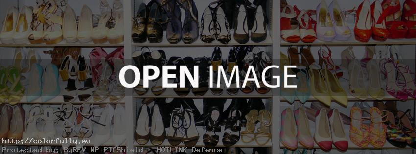 High heels shoes - Facebook cover