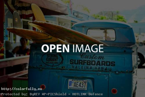 Surf board buss