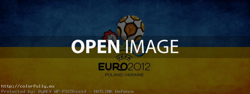 Ukraine Euro 2012 - Facebook Cover