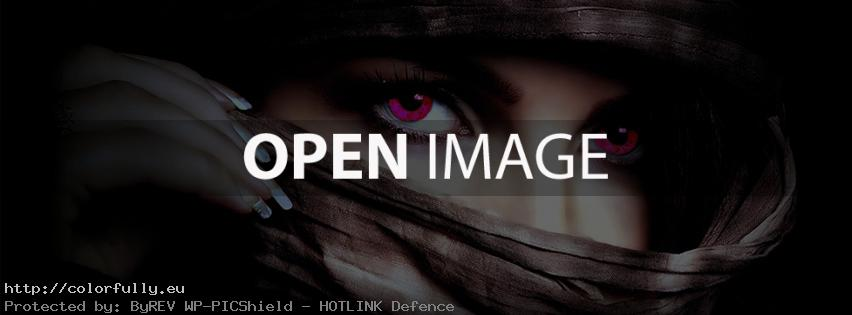 The most beautiful eyes – Facebook cover