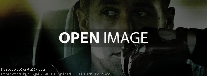 Ryan Gosling – Drive – Facebook cover