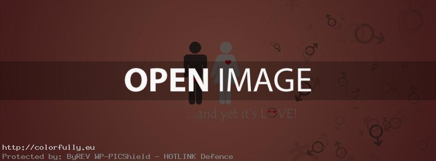 And yet its love – Facebook cover