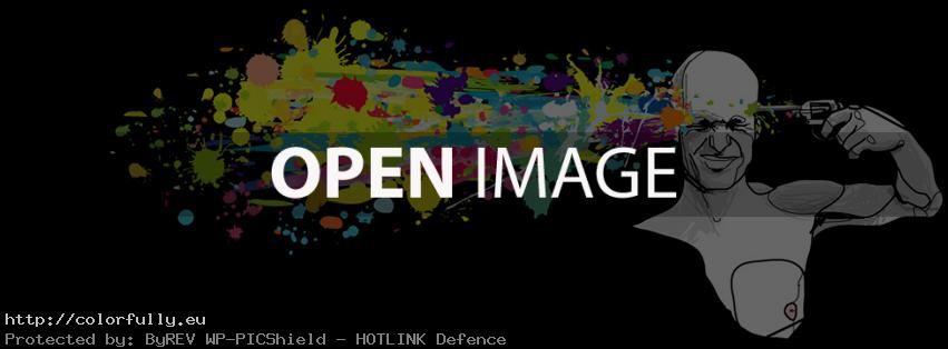 Colorful paint artistic suicide – Facebook cover