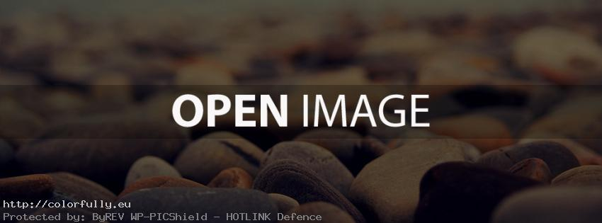 Blurry rocks – Facebook cover