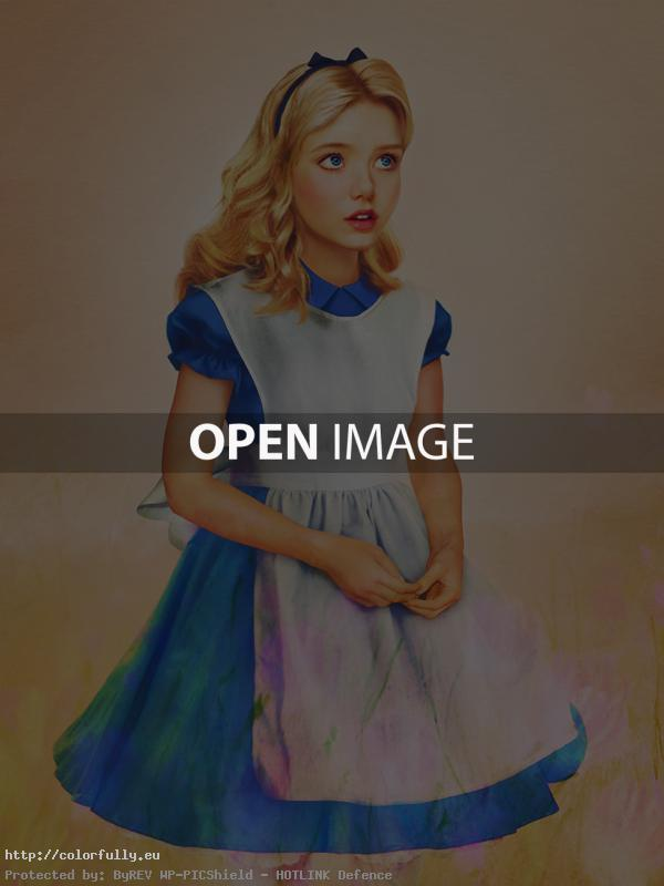 Disney characters in real life – Alice from Alice in Wonderland