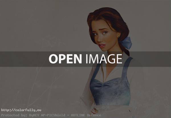 Disney characters in real life - Belle from Beauty and the Beast