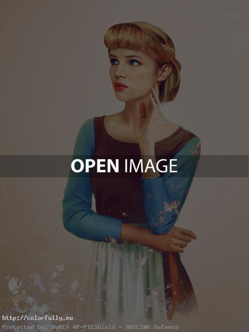 Disney characters in real life – Cinderella
