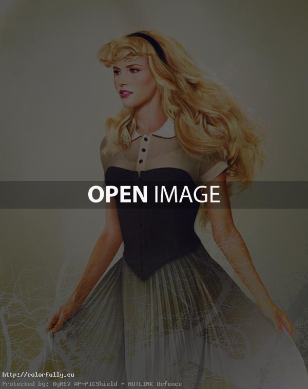 Disney characters in real life – Princess Aurora from Sleeping Beauty