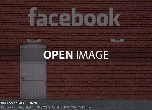 Facebook – Entry and No exit