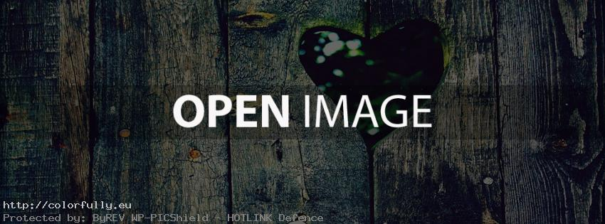 Heart hole – Facebook cover