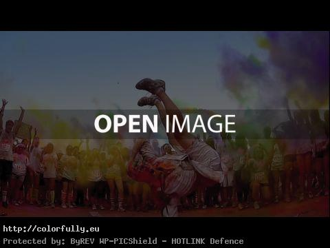 THE COLOR RUN – Be a Color Runner