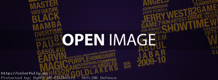 Los Angeles Lakers – Facebook cover