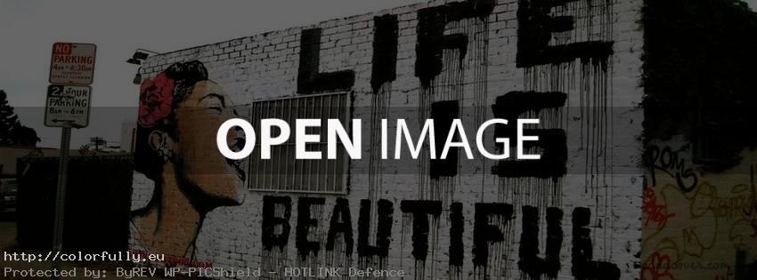 Life is beautiful – Facebook cover