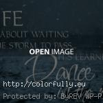 Colorfully 187 Free Facebook Covers 187 Life Isn T About Waitnig For The Storm To Pass Its Learning