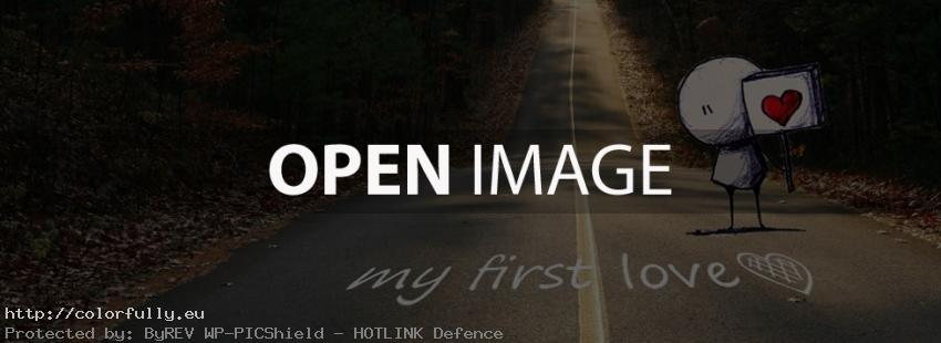 My first love – Facebook cover