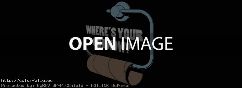 No toilet paper! Where is your god now? - Facebook cover