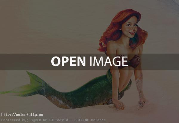 Disney characters in real life - Ariel from The Little Mermaid