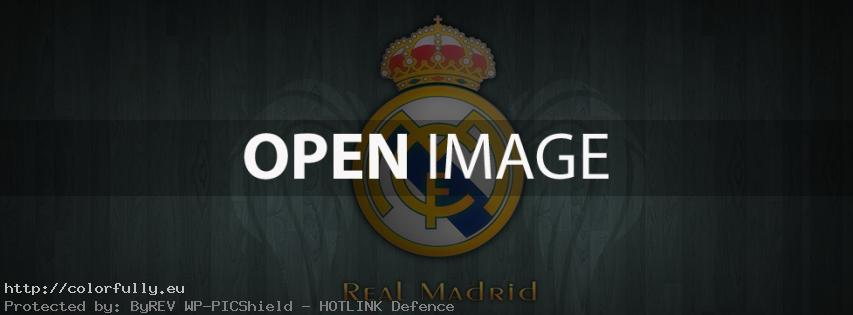Real Madrid C.F. – Facebook cover