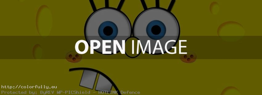 Sponge bob square pants - Facebook cover