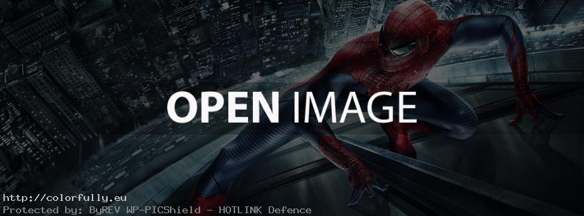 The amazing spider man – Facebook cover