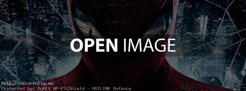 The amazing Spiderman – Facebook cover