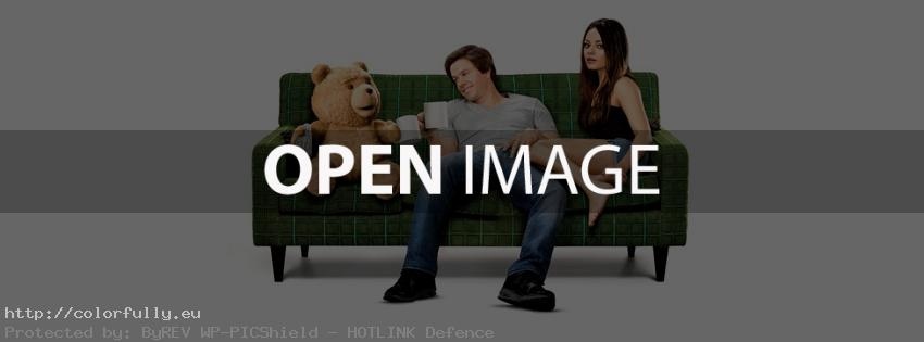 Ted the movie 2012 – Mark Wahlberg – Facebook cover